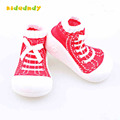 Toddler Shoes with rubber soles floor Sock infants baby newborn baby girls shoes TSP301
