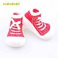 Zapatos de niño con suela de goma piso Calcetín bebés bebé recién nacido bebé niñas zapatos TSP301