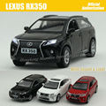 1:32 Scale Alloy Diecast Metal Car Model For LEXUS RX350 Collection Model Pull Back Toys Car With Sound&Light - Black/Red/White