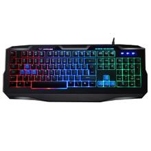 K3 font b Game b font font b Laptop b font Keyboard Ergonomics Player Backlight Usb