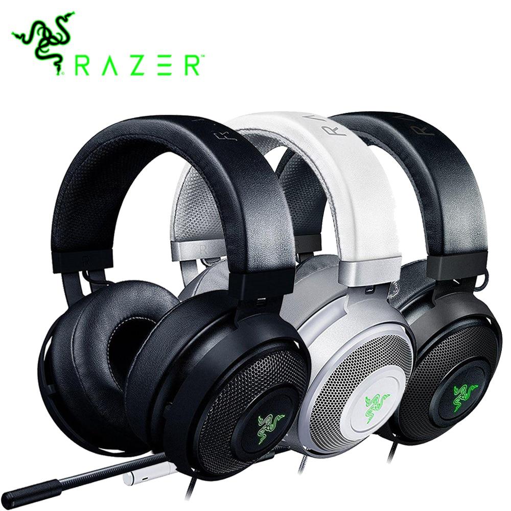 Razer Kraken 7.1 Chroma V2 Virtuale Surround Cuffie Audio con Microfono Digitale Ovale Auricolari Chroma Illuminazione di Gioco Della Cuffia