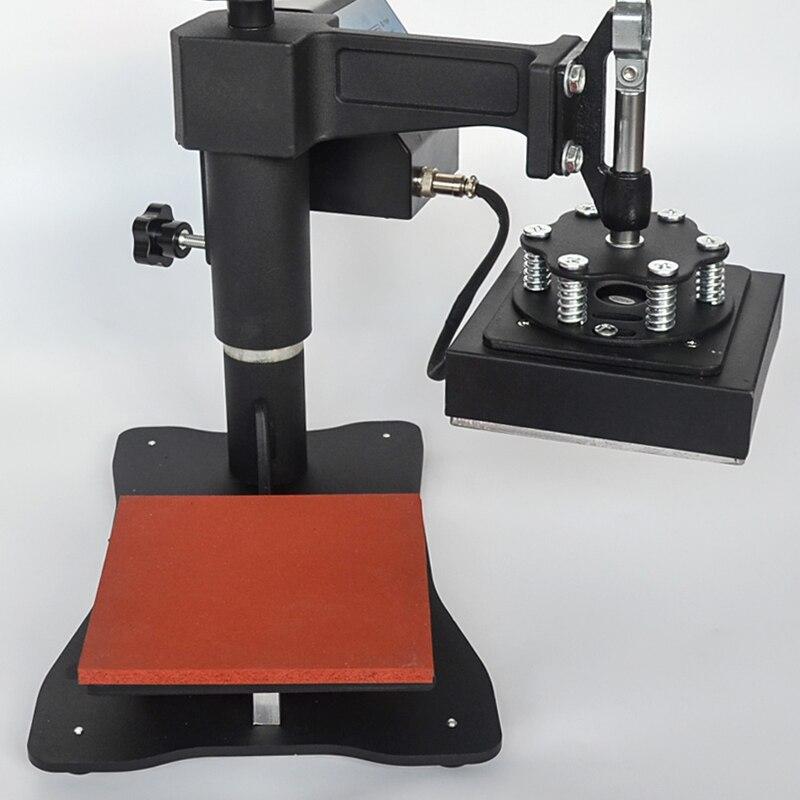 Wtsfwf 15*15 CENTÍMETROS Manual Pequeno Logotipo Logo Impressora Impressora Imprensa do Calor Da Máquina Da Imprensa do Calor para t casos