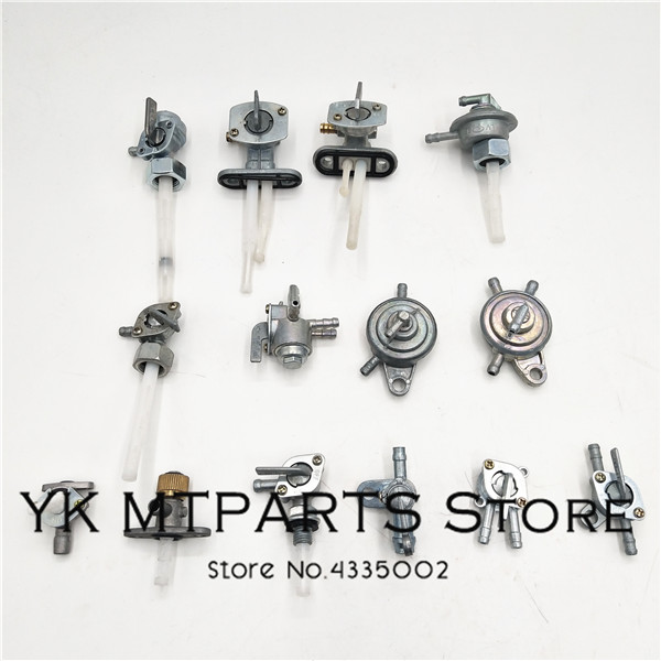 Multiple Types Motorcycle Fuel On/Off Valve Switch Petcock Oil Tank Hose Tap For  Scooter Motorcycle Motorbike  ATV MINI MOTOR