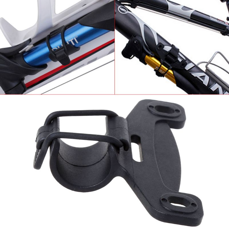 Bicycle Air Pump Clip Inflator Holder Mount Elastic Band MTB Road Bike Supplies