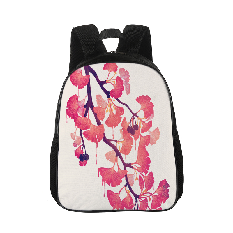 CROWDALE 15 inches Fashion Women Backpack Canvas Backpack School Bag For Girls Rucksack Female Travel Backpack plant series bag