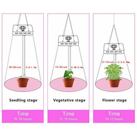 Newly 300W LED Plants Grow Light Vegetable Flower Indoor Growing 3030 100SMD Lights with Hanging Chain XSD88