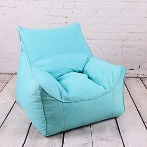 Image 4 - כסא שקית שעועית ספה כיסאות מושב סלון ריהוט ללא מילוי עצלן מושב זאק הפופים Levmoon פוף כיסא פגז