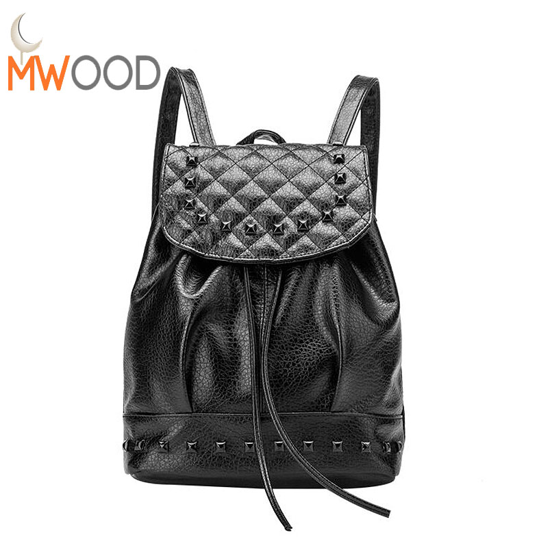 2017 Women PU Leather Backpack Drawstring Shoulder Bagpack Travel Bag College High School Bag for Teenager Girls sac a dos NB15 kids shoes girls boys pu leather lace up high children sneakers girl baby shoes sport autumn winter children shoes