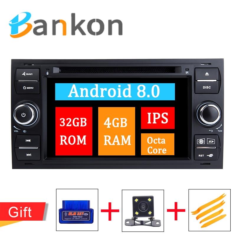 Lecteur DVD de voiture Android 8.0 Octa Core 8 pouces pour VW Volkswagen Golf Passat Touran Tiguan Sharan Magotan Skoda Seat GPS Wifi RDS