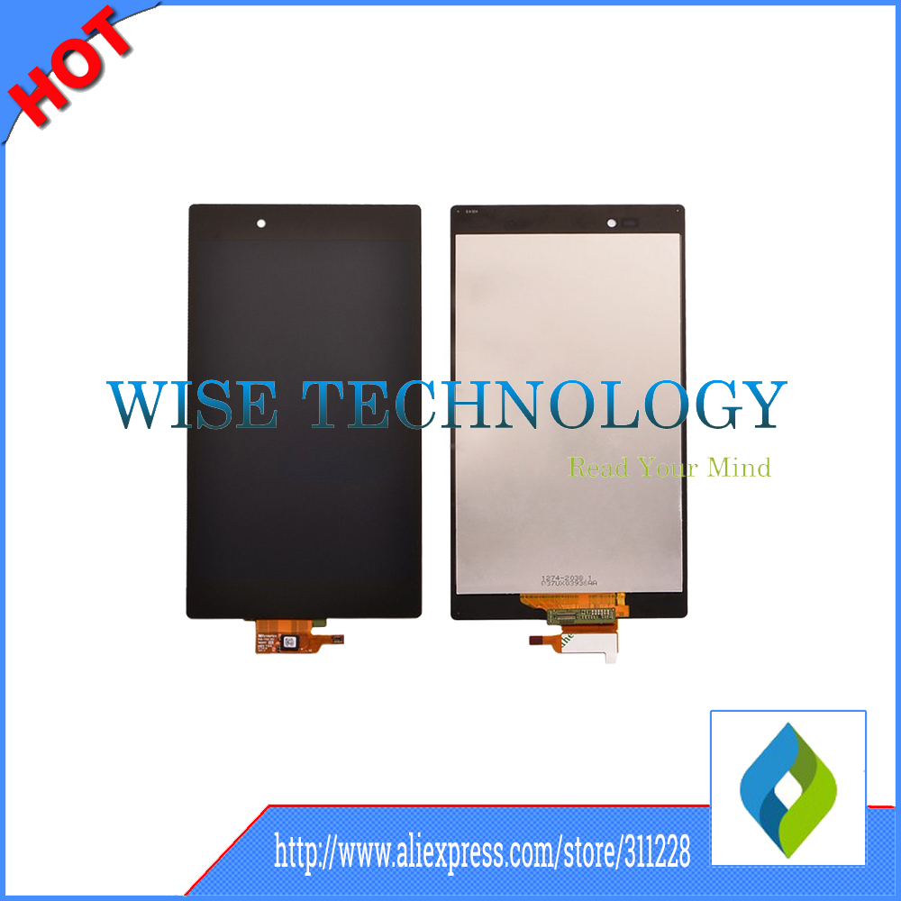For Xperia Z Ultra XL39h XL39 C6802 C6806 C6843 LCD Display+Touch Screen digitizer  lcd display touch screen digitizer for sony xperia z ultra xl39h xl39 c6802 c6806
