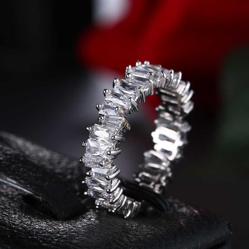 EMMAYA ใหม่แฟชั่น Charm AAA Cz งานแต่งงานแหวนผู้หญิงเครื่องประดับจัดส่งฟรี