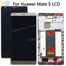 Huawei Mate S LCD Display Touch Screen Digitizer Assembly CRR L09 CRR UL20 For Huawei Mate S LCD Screen With Frame Replacement