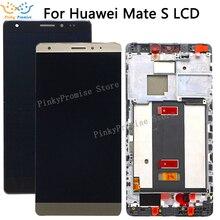 مجموعة محول رقمي لشاشة عرض LCD باللمس CRR L09 لهاتف هواوي ميت إس شاشة LCD مع استبدال الإطار