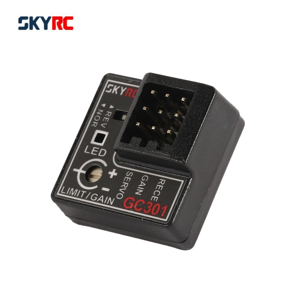 SKYRC GC301 Mini Gyro Gyroscope for RC Car Drift Racing Car Steering Output Integrated Compact Light-weight Design RC Parts&Accs skyrc 6 in 1 program box for rc car boat parts page 3