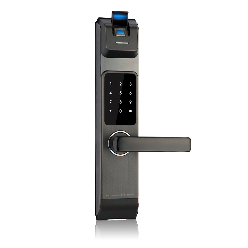 2017 High Security Wireless Electronic Door Lock Biometric Smart Door Lock Digital Touch Screen Keyless Fingerprint Door Lock smart door lock electronic fingerprint door lock control digital keyless door lock biometric keypad double sided door lock