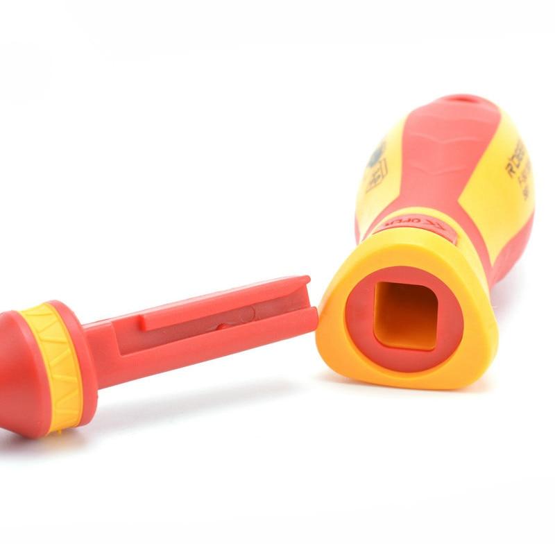 Nowy 13 szt. Zestaw wkrętaków z izolacją VDE CR-V Wysokie - Narzędzia ręczne - Zdjęcie 5
