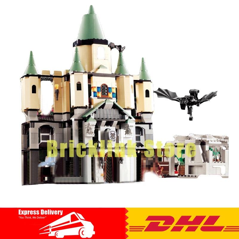 LEPIN 16029 Creative Movie Series Magic Hogwort Castle Children Educational Building Blocks Kids Toys Gift 5378