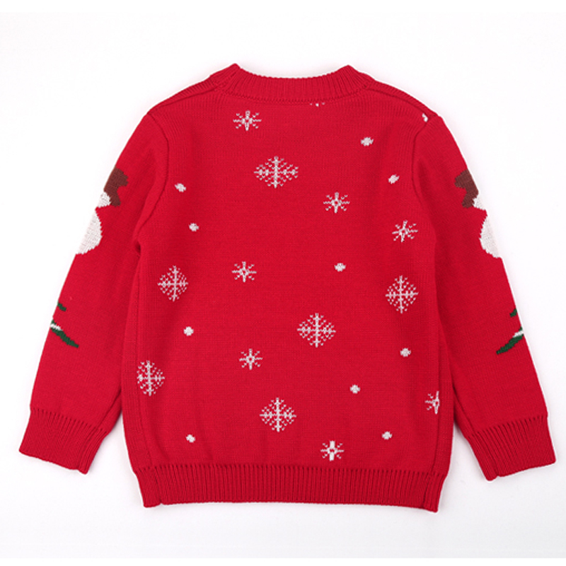AD Woolen Blend Girls Boys Sweaters Thickening Two Layers Warm Kids ...