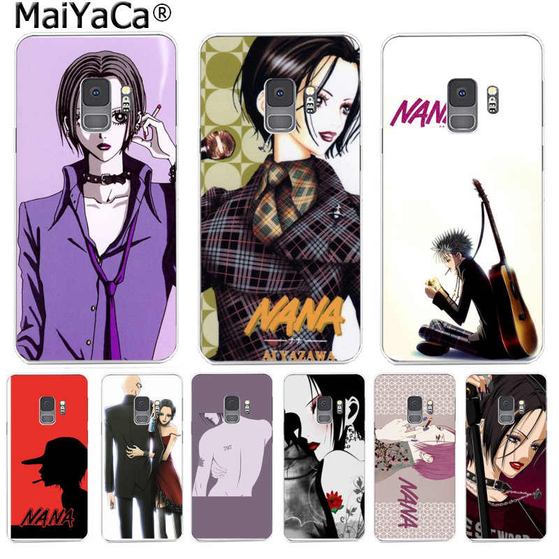 Maiyaca nana osaki para a caixa do telefone para o iphone tpu macio voltar casos para samsung s9 s9 mais s5 s6 s6edge s6plus s7 s7edge s8 s8plus
