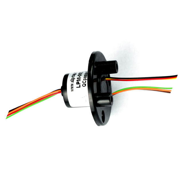 FREE Ship Out Dia 16mm 250 RPM Miniature Slip Rings 6 Circuits 2A Capsule Slip Ring 6 Conductors rotary electrical collector zsr022 3r20a capsule slip ring for automatic arm slip rings 3 channel 20a large current compact slip ring out dia 22mm