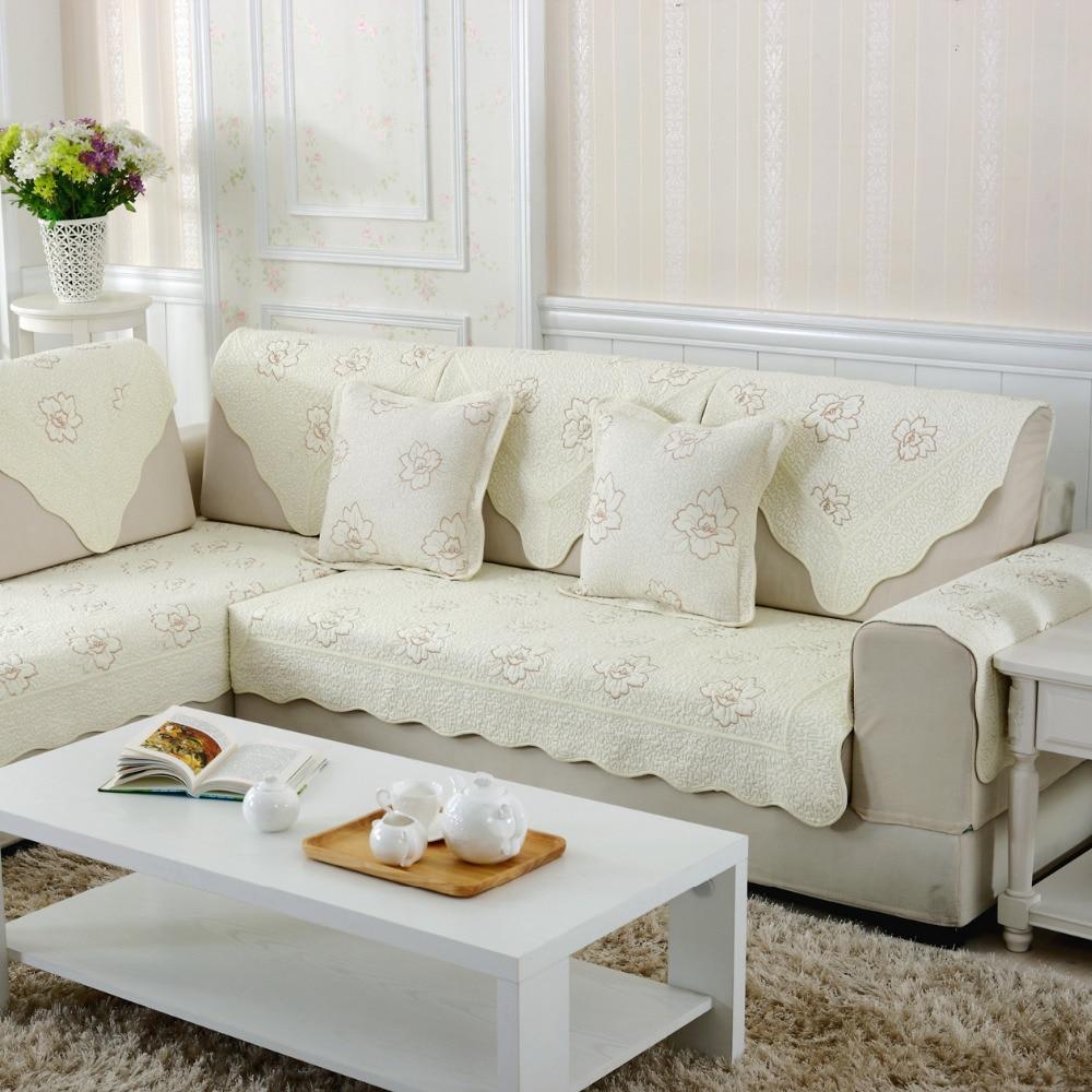 Cotton Seat Sofa Covers Slip Resistant Combination Sofa