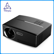Thinyou Newest Mini LED Projector Full HDMI USB PC Portable Multimedia Home Theater Movie Game Proyector Beamer VGA AV USB