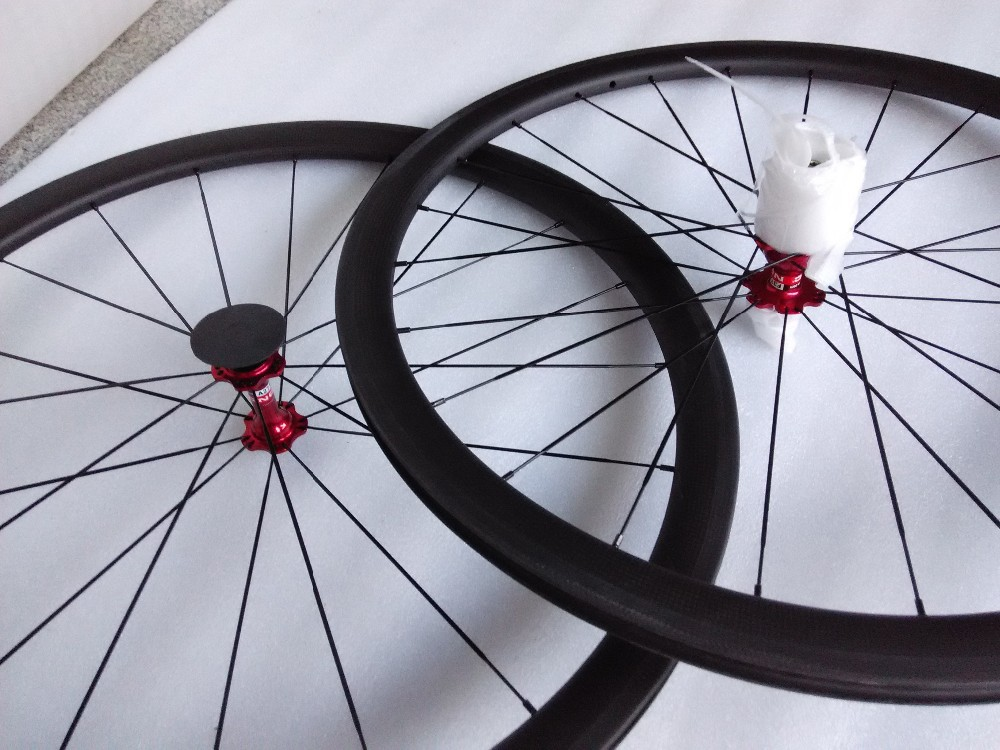 carbon wheels clincher 38mm bicycle wheels 700c Chinese carbon wheels tubular (7)