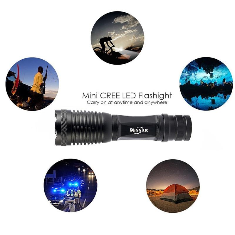 ZK20 Dropshipping Puissant T6 LED lampe de poche torche 9000LM - Éclairage portable - Photo 5