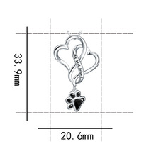 Best Friend Paw Necklace