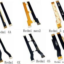 New For Xiaomi Redmi 4A 4X 4S 5X max2 redmi 5 plus Note 4X Note 5 Note 5A Main Motherboard Connector LCD Flex Cable Repair Parts