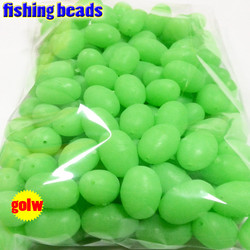 fihsing plastic luminous fishing beads glow in the dark 2*3 3*4----12*16mm more size choose