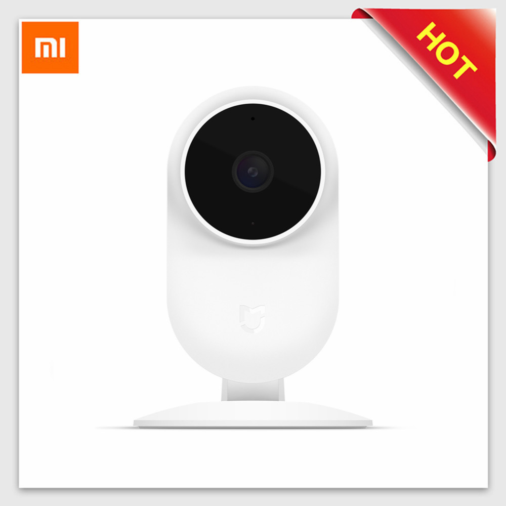 Xiaomi Mijia 1080P FHD Smart IP Camera 130 Degree FOV Night Vision 2.4G 5.8Ghz Dual-Band WiFi Mi Home Kit Security Monitor CCTV комплект умный дом xiaomi smart home security kit