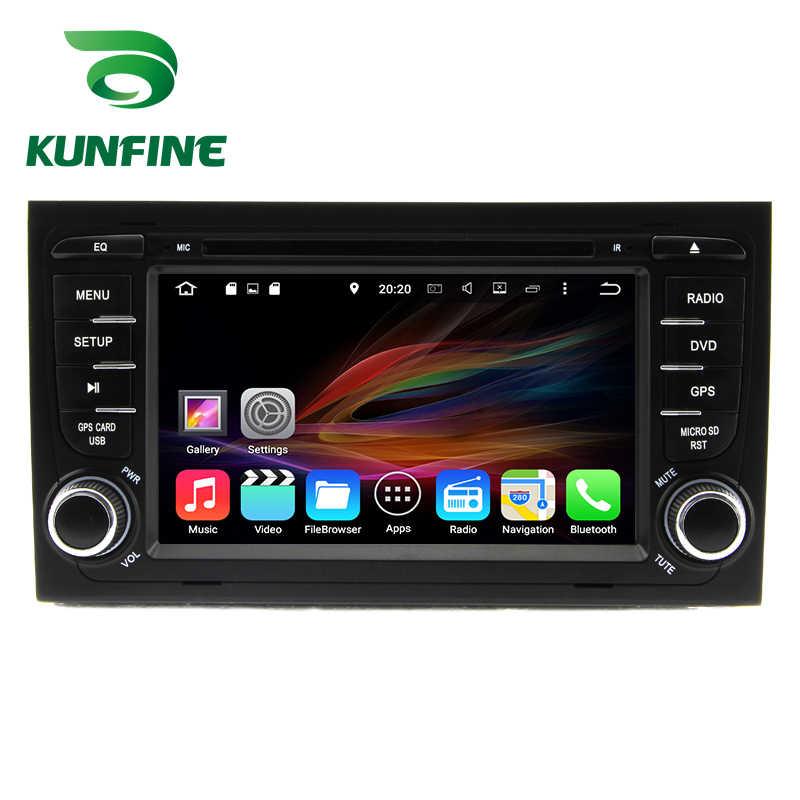 オクタコア 4 1gb の Ram アンドロイド 8.0 車の DVD GPS ナビゲーション、マルチメディアプレーヤー車用アウディ A4/S4 /RS4 2002-2008 ラジオヘッドユニット