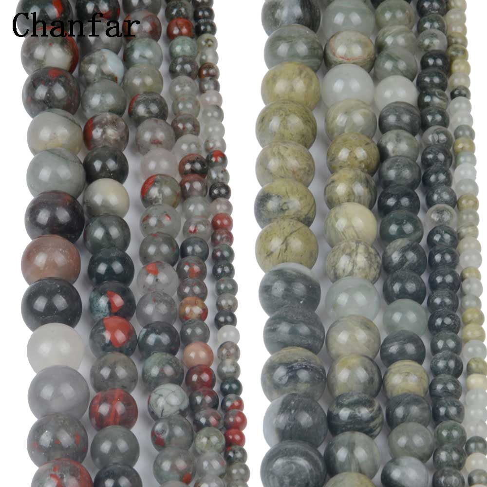Natural Stone Women Jewelry Fashion Making Loose Beads 4 6 8 10 12mm