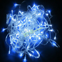 Led String Light 30M 300led AC110 220v 9 Colors Holiday Led Lights Waterproof Outdoor Decoration Light