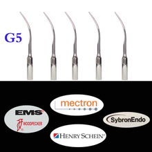 5 pcs/lot Dental Ultrasonic Scaler Tip G5 For Woodpecker/ EMS/ UDS/ SYBRON-ENDO Series Lab Device Teeth Whitening цена 2017