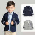 Brand 2016 new Spring children College of British style Children's casual suit jacket boy's coat for 2-6 aged free shipping