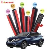 Car Hood Door Trunk Rubber Strip Kit Sound Control Waterproof Seal Edge Trim Weatherstrip For Nissan