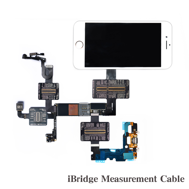 iBridge Measuring Cable For iPhone 6 6P 6S 6SP 7 7P Motherboard PIN Resistance Voltage Signal Test Extension Line Repair TooliBridge Measuring Cable For iPhone 6 6P 6S 6SP 7 7P Motherboard PIN Resistance Voltage Signal Test Extension Line Repair Tool