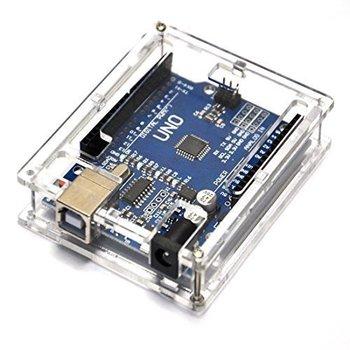 Uno R3 Case Enclosure Transparent Acrylic Box Clear Cover Compatible For Arduino UNO R3 Case