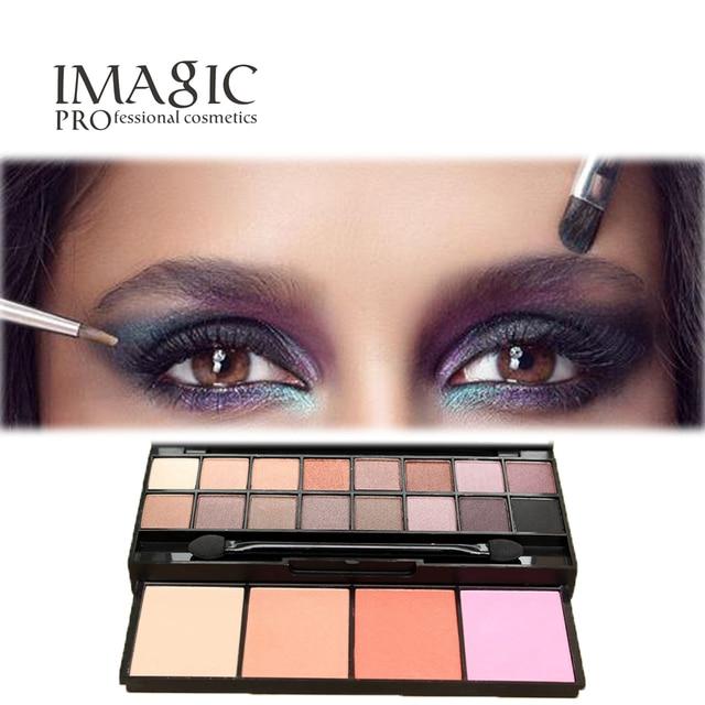 Marcas No florecen Mate de Sombra de Ojos Sombras Maquillaje Resaltadores Ilumina Suave Natural Face Powder blush Colorete Maquillaje Paleta