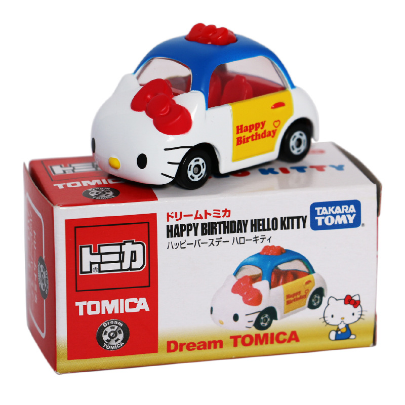 2016 new cute mine tusm tomy tomica hello kitty diecast metal toy car for children gift 164 loose brand new in stock in diecasts toy vehicles from toys