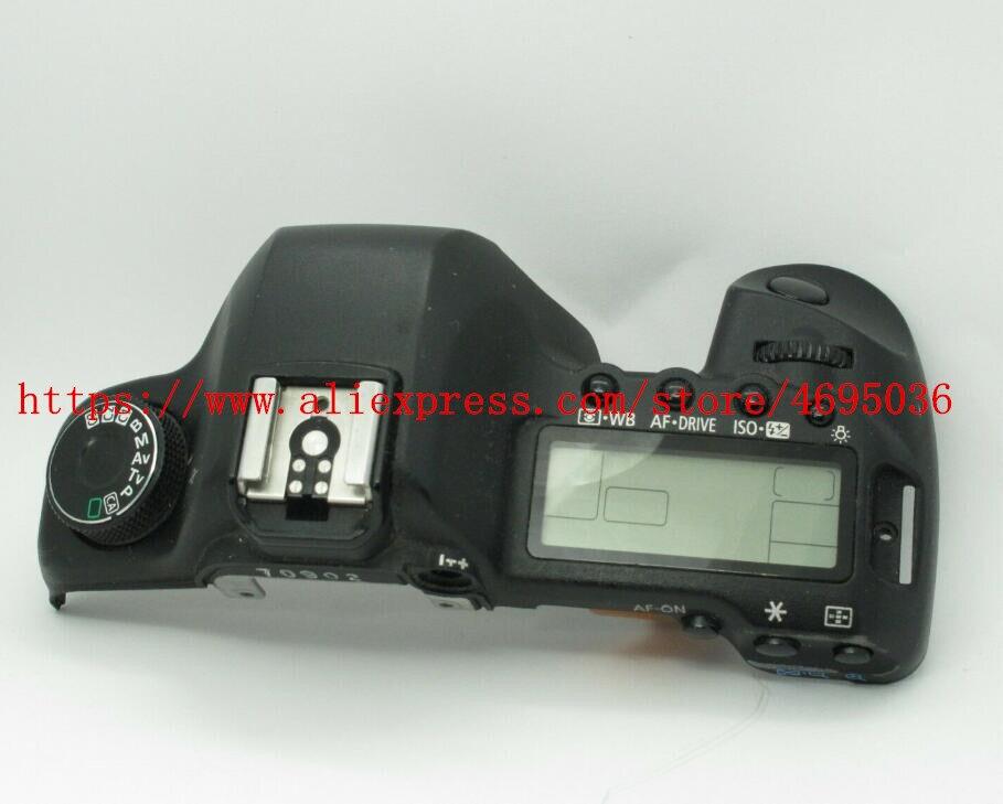 Nouveau 5D2 couvercle supérieur pour canon 5D MARK II unité supérieure 5D mark ii unité ouverte avec écran supérieur unité de remplacement de caméra pièce de réparation