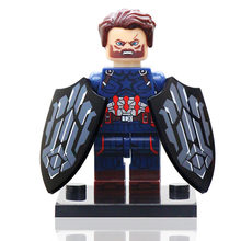 Super Hero Machine Black Panther Doctor Strange Iron Man Building Blocks Brick Toys Compatible LegoINGlys Figures Toys Children(China)