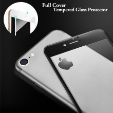 UltraThin 3D Full Coverage Tempered Glass Screen Protector for iPhone 7 plus screen protector Film for iphone7 6s 6+ full cover стоимость