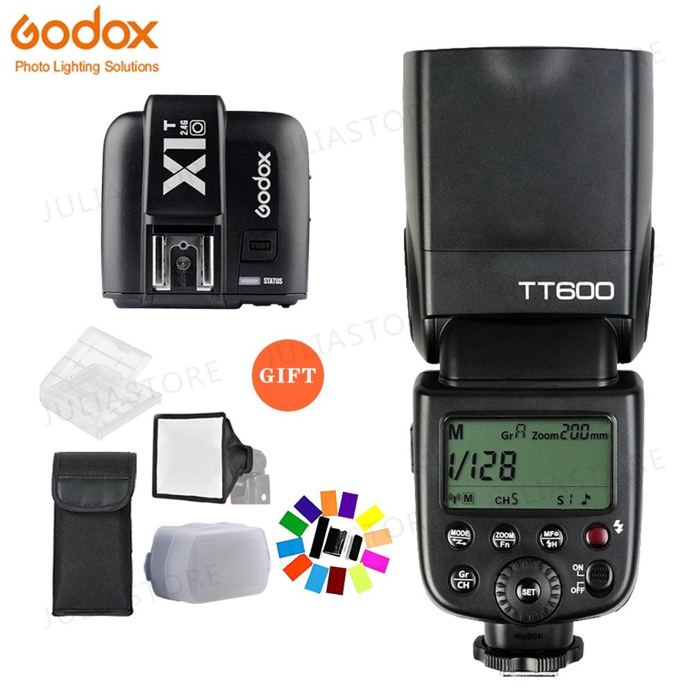 Godox TT600 2.4G Macchina Fotografica Senza Fili Flash Speedlite + X1T-O Trasmettitore Wireless Flash Trigger per Olympus PanasonicGodox TT600 2.4G Macchina Fotografica Senza Fili Flash Speedlite + X1T-O Trasmettitore Wireless Flash Trigger per Olympus Panasonic