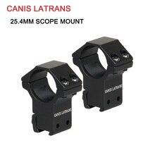 Canis Latrans Tactical 25.4MM scope Rings 11mm Rail Scope Mount for rifle scope GZ24-0066B цена 2017