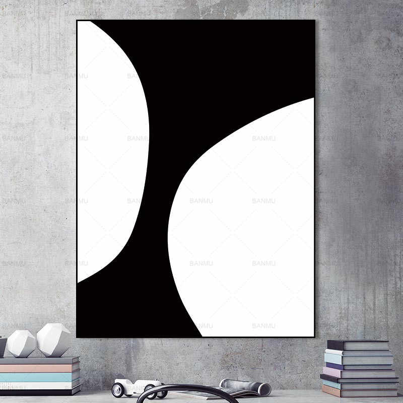 Canvas painting Wall Art Picture Abstract geometry Wall poster decoration for living room prints Artist on canvas home decor