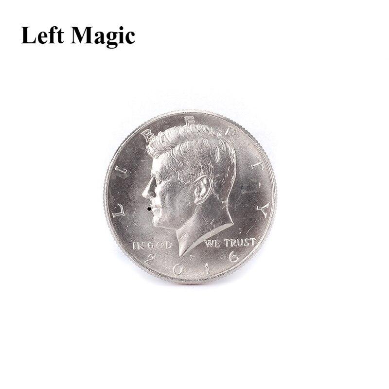 Suirting Us Half Dollar Nickel Coin Magic Tricks Squirts Water Joke Magic Props Comedy Close Up Magic Mentalism Gimmick B1018