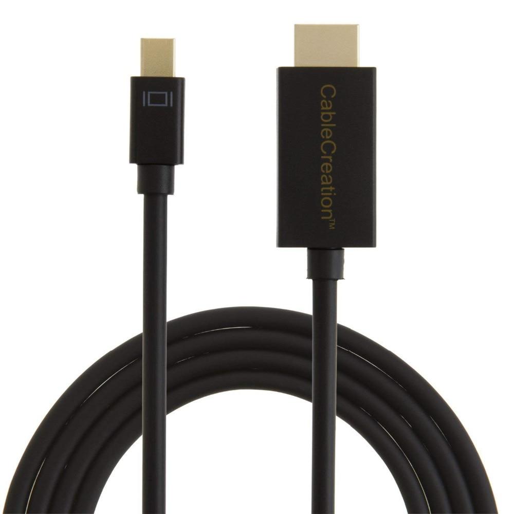 4K x 2K DP to HDMI DisplayPort to HDMI Adapter 3D Audio//Video Converter Black